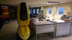 Juletræf og en Orca
