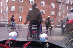 Karmakanonen og Tour de future parade i Aalborg