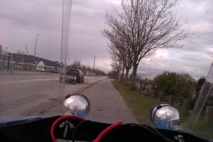 Leitra på vej hjem