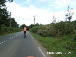 Lang vej op fra Brest