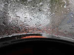 Regn kom der også