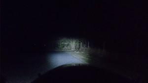 Strada E cold night