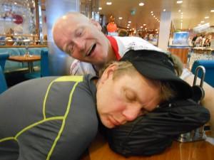 Big Daddy og Baby Paul er blevet træt