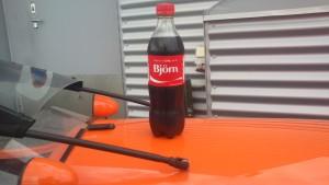 Cola med Bjørn på