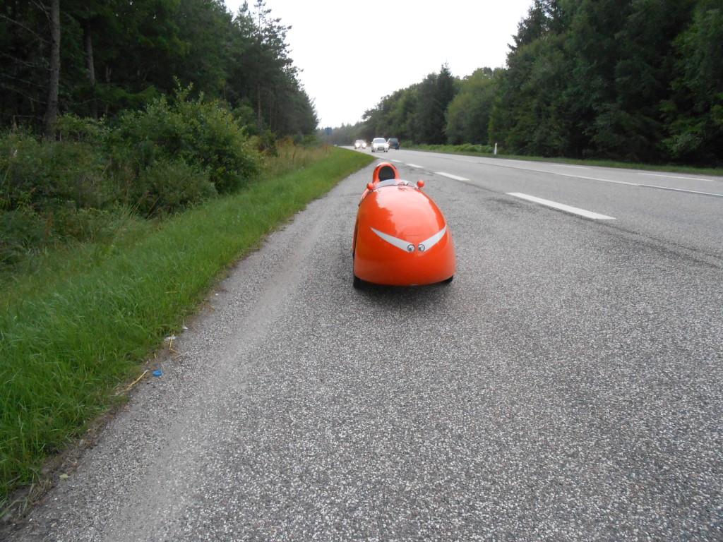 På vej til Århus