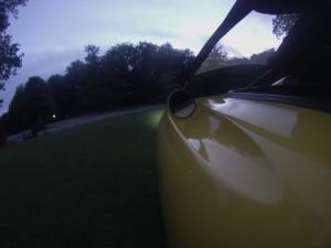 Orca velomobile Aldershvile Slots Park
