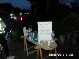 Natte depot , sat af venlige folk