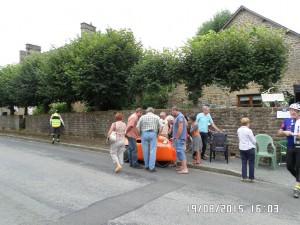 Interesse i Strada ved det berømte pandekage stop