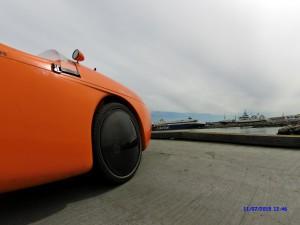 Carbon wheel covers Hirtshals havn