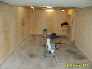 Velomobil garage Isolering