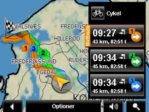 screenshot GPS hundested